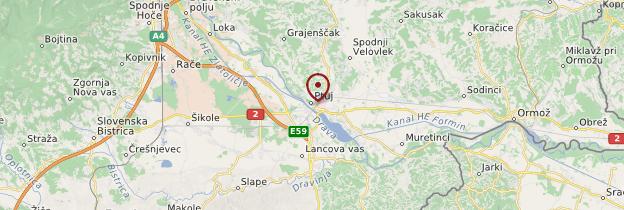 Carte Ptuj - Slovénie