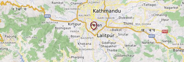 Carte Patan - Népal