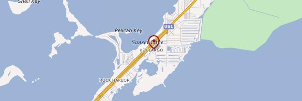 Carte Key Largo - Floride