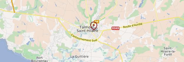 Carte Talmont-Saint-Hilaire - Pays de la Loire
