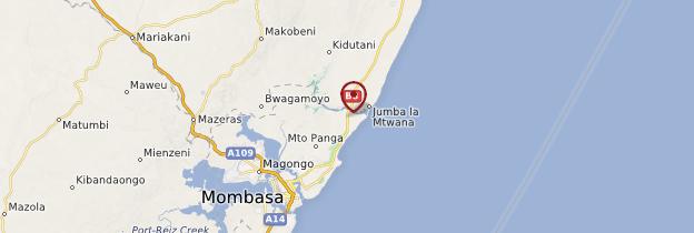 Carte Mtwapa - Kenya
