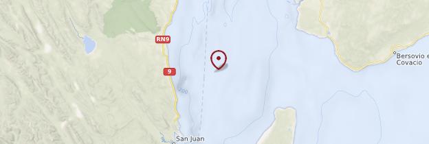 Carte Détroit de Magellan - Chili