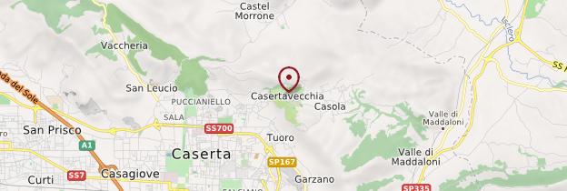 Carte Caserta Vecchia - Italie