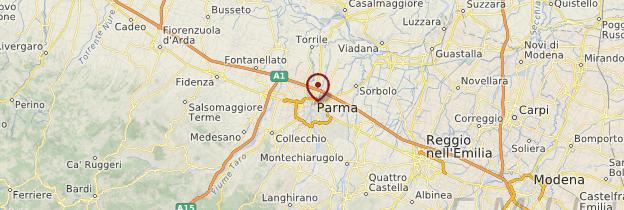 Carte Parma (Parme) - Italie