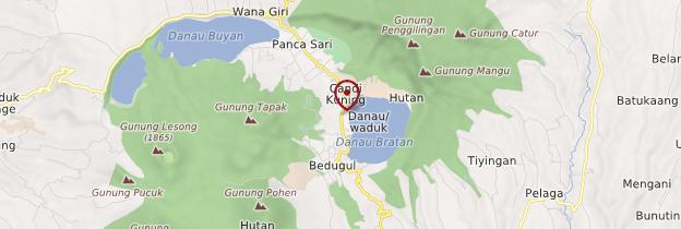 Carte Bedugul - Bali