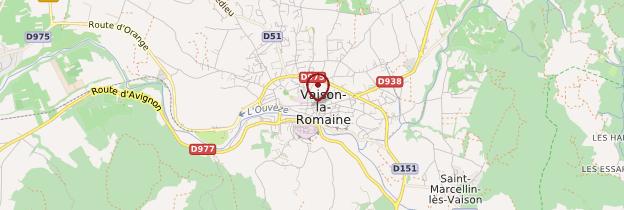 Carte Vaison-la-Romaine - Provence