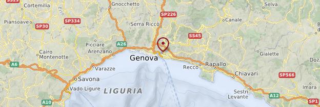 Carte Genova (Gênes) - Italie