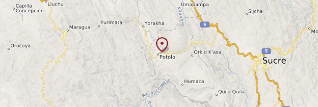 Carte Potolo - Bolivie