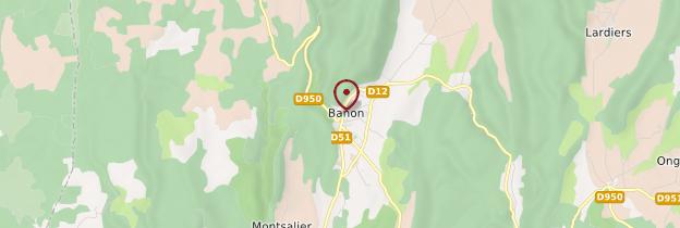 Carte Banon - Provence