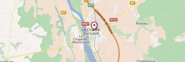 Carte La Charité-sur-Loire - Bourgogne