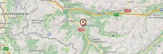 Carte Schruns - Autriche