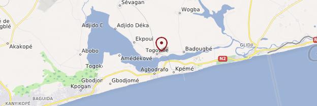 Carte Togoville - Togo