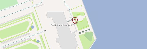 Carte Drottningholm Slott (château de Drottningholm) - Suède