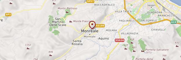Carte Monreale - Sicile