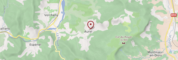 Carte Aurel - Ardèche, Drôme