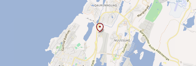 Carte Nuuk - Groenland