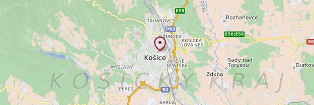 Carte Košice - Slovaquie