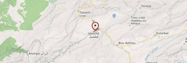 Carte Imilchil - Maroc