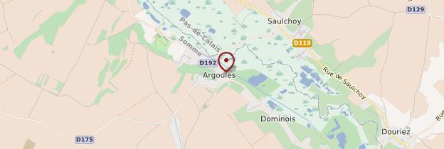 Carte Argoules - Picardie