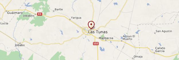 Carte Las Tunas - Cuba