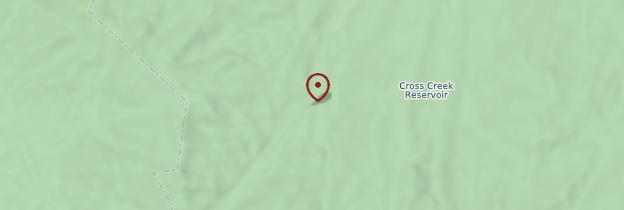 Carte Bighorn Mountains - Parcs nationaux de l'Ouest américain