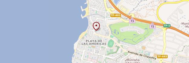 Carte Playa de las Américas - Tenerife