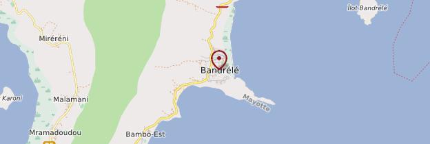 Carte Bandrélé - Mayotte