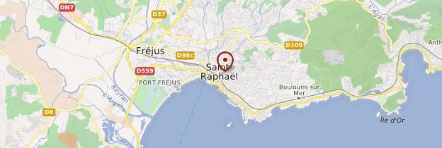 Carte Saint-Raphaël - Côte d'Azur