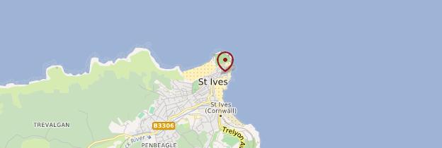 Carte Saint Ives - Angleterre