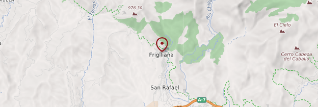 Carte Frigiliana - Andalousie