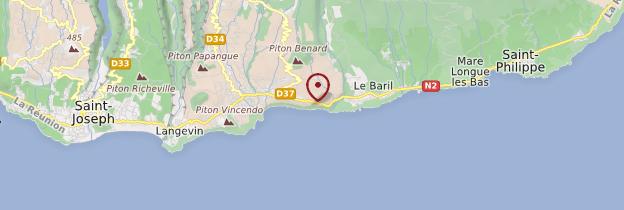Carte Cap Méchant - Réunion