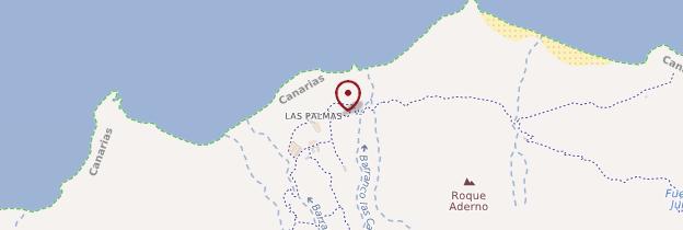 Carte Las Palmas de Anaga - Tenerife
