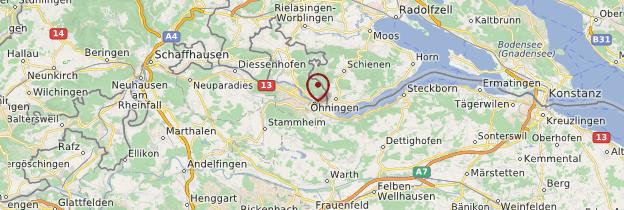 Carte Stein-am-Rhein - Suisse