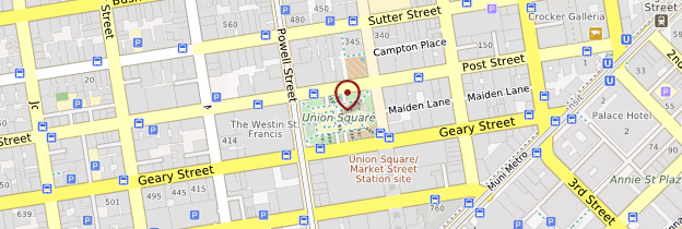 Carte Union Square - San Francisco