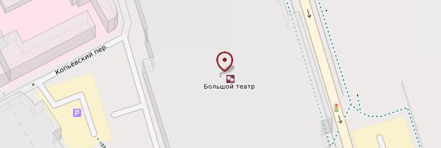 Carte Théâtre du Bolchoï - Moscou