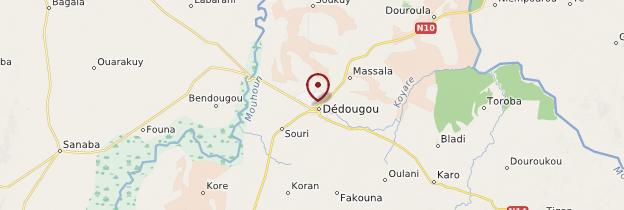 Carte Dédougou - Burkina Faso