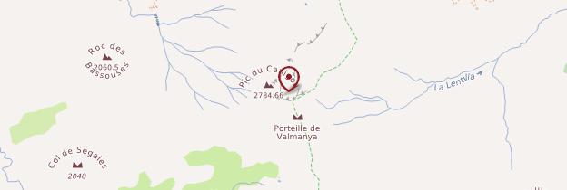 Carte Canigó - Languedoc-Roussillon