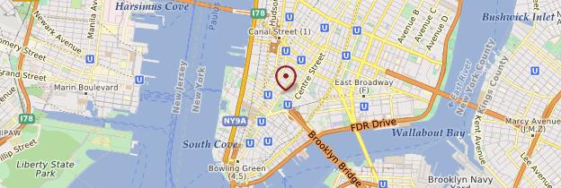 Carte Rockefeller Center - New York