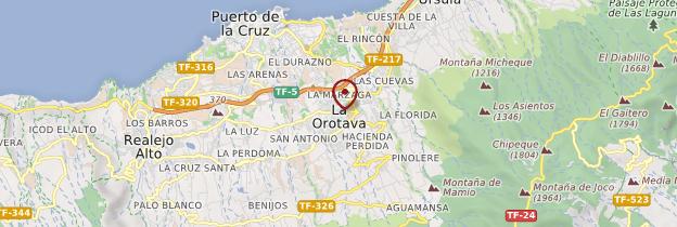 Carte La Orotava - Tenerife