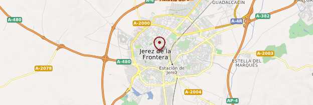Carte Jerez de la Frontera - Andalousie