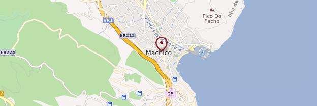 Carte Machico - Madère
