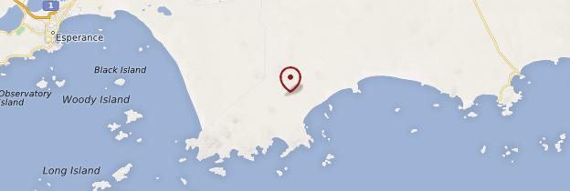 Carte Cape Le Grand National Park - Australie