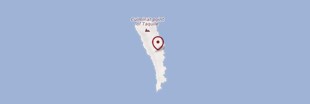 Carte Isla de Taquile - Pérou