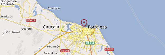 Carte Fortaleza - Brésil