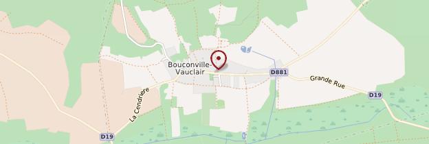 Carte Abbaye de Vauclair - Picardie