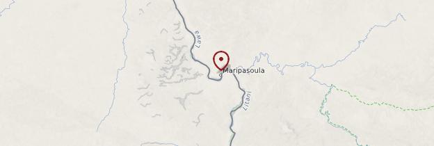 Carte Maripasoula - Guyane
