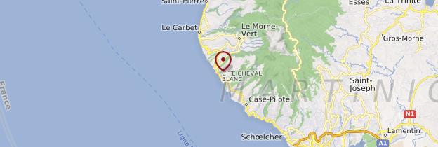 Carte Bellefontaine - Martinique