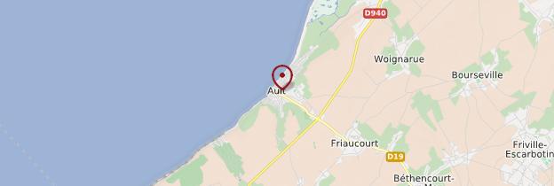 Carte Ault - Picardie