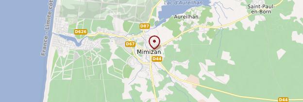 Carte Mimizan - Aquitaine - Bordelais, Landes