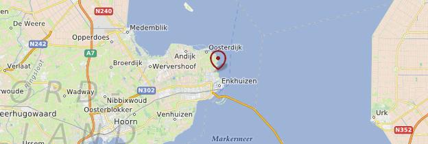 Carte Enkhuizen - Pays-Bas